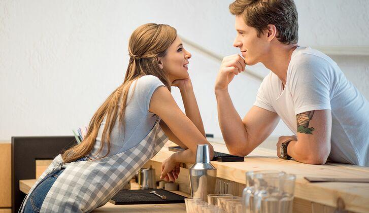 Flirten Tricks mit Äffäre