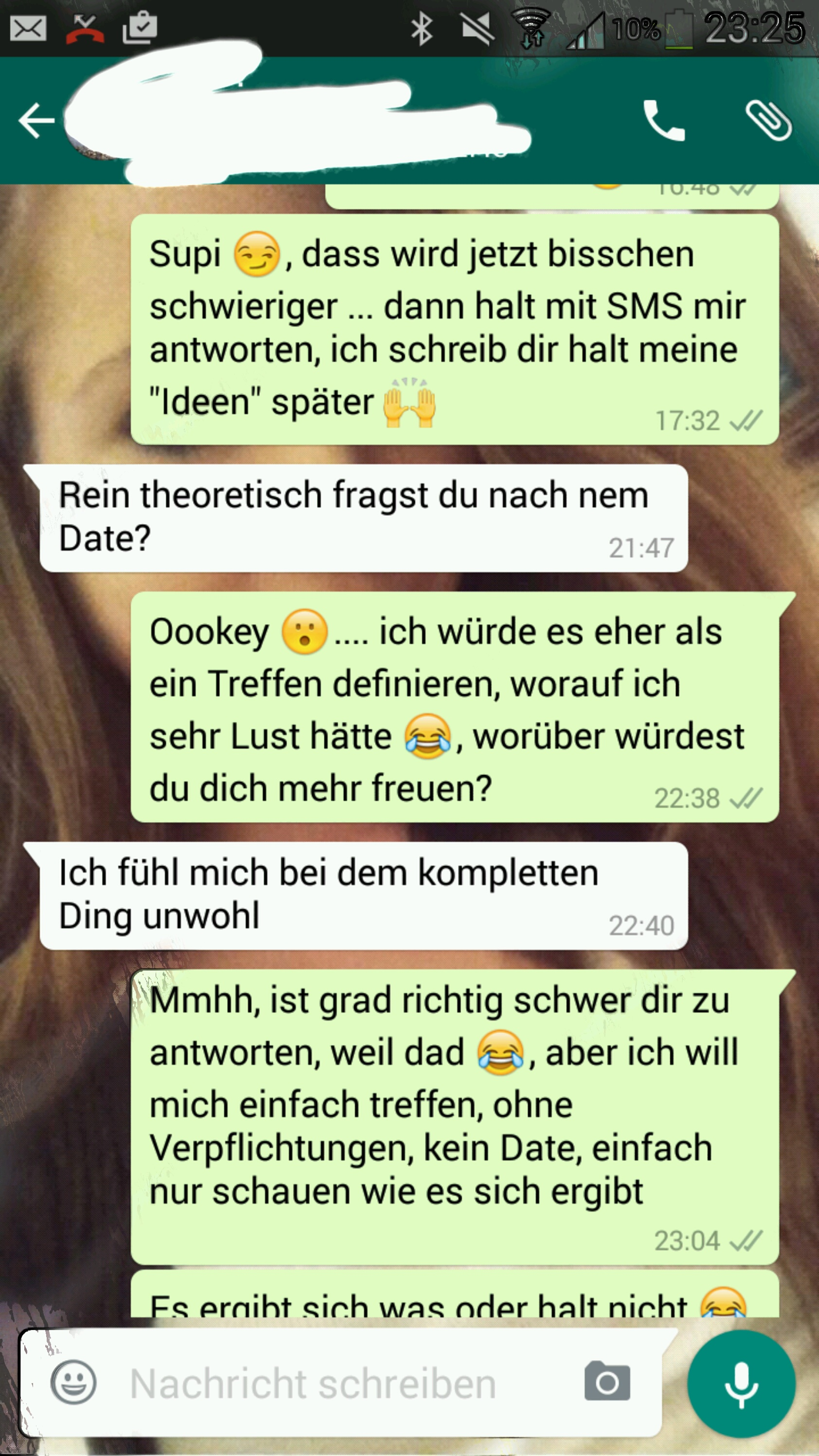 Dating auf whatsapp Monogamie