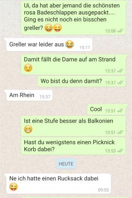 Wie flirten über whatsapp Entdecke
